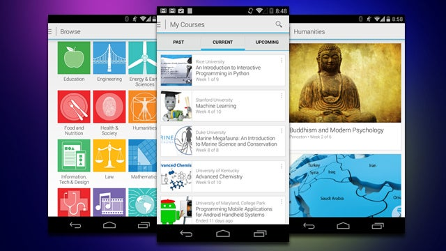 Coursera's Android App Allows You to Download Lectures For Mobile Use