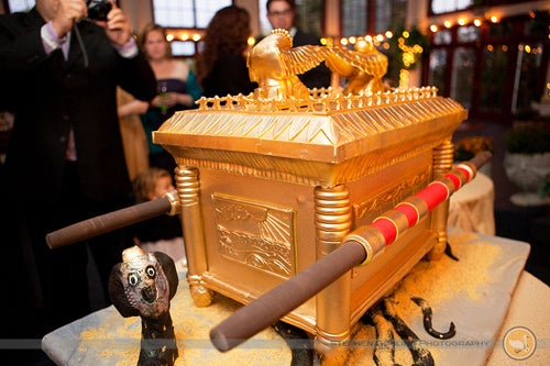 The Ark of the Covenant Cake is Face-Meltingly Awesome
