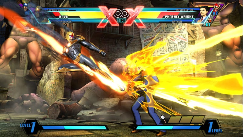 Phoenix Wright and Nova Join the Ultimate Marvel Vs. Capcom 3 Battle at the New York Comic-Com