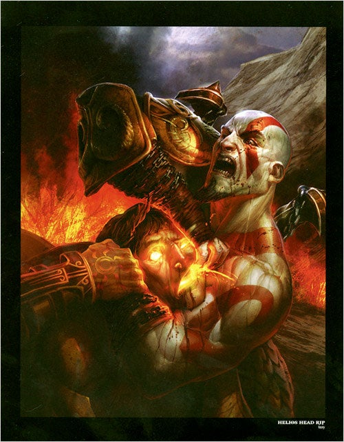 It's Kratos Decapitating Helios... But Is It Art?