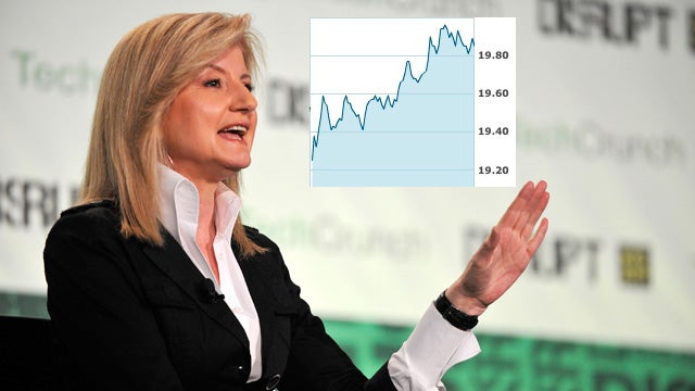 Arianna Says Buy AOL, Insane Investors Obey