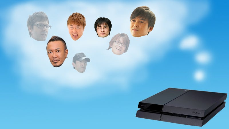 Japan's Great Developers Discuss the PS4