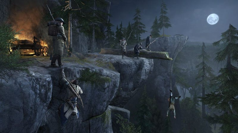 Reviewers Love Playing With Animals, Climbing Trees, and Stabbing People In Assassin's Creed III