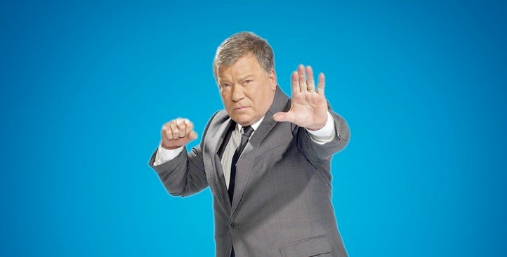 Shatner Unleashes His Live-Tweeting Powers on the CW's Scifi Lineup