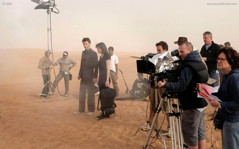 Doctor Who Does Dubai — And You Are There!