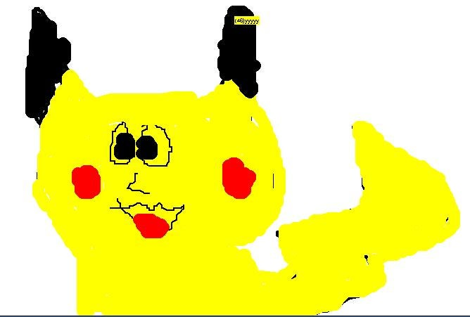 Some of the Worst Pikachu Drawings on the Internet
