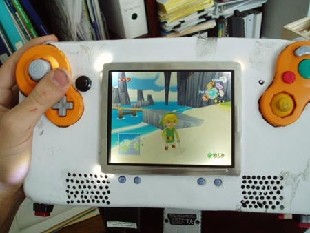 Handheld Gamecube Mod Gets B- For Effort, F For Quality