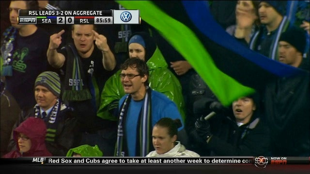 A Seattle Sounders Fan Salutes You, Two Fingers At A Time