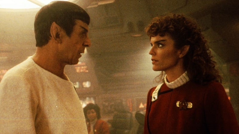 Star Trek IV could have included more about Spock's baby
