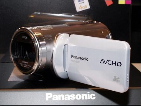 Panasonic Shoots for High-Def with HDC-SD1