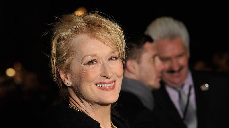 Meryl Streep Goes Into Labor While Reading Traffic Report