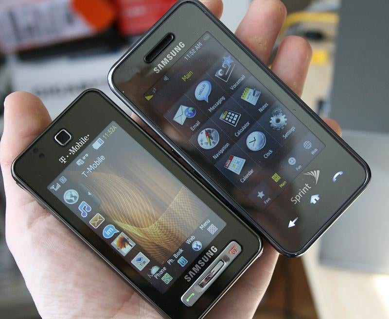 Samsung Behold With 5MP Camera, Widgety TouchWiz UI First Impressions