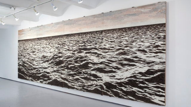 You Will Not Believe What This Huge Mural Is Actually Made of