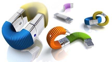 Memory Infinite 'Stackable' USB Flash Drive Concept