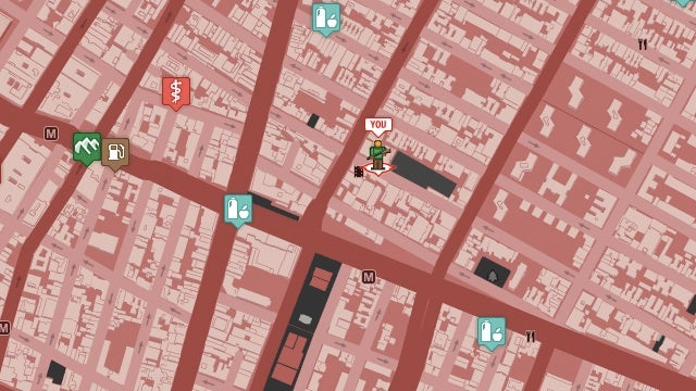 Zombie survival Google Map allows you to find food and guns for the undead apocalypse