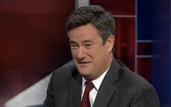 Joe Scarborough Reluctant to Save the Country