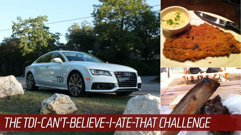 Which Goes Further: Your Stomach Or A Modern Diesel Car?