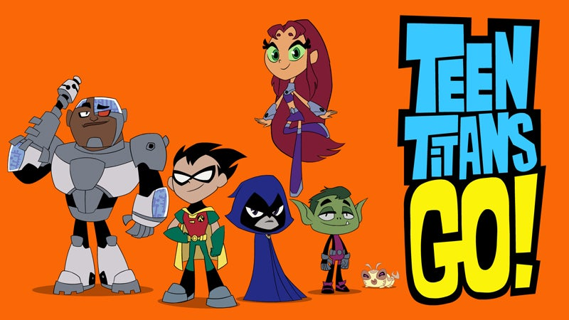 The Titans fight giant robots and long grocery store lines in the first clip from Teen Titans Go!