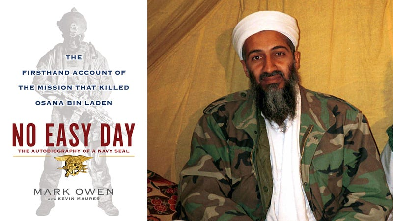 SEAL Book: Osama Was Killed Unarmed, Biden Is Like a 'Drunken Uncle'