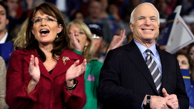 John McCain: Sarah Palin Was a Better Candidate Than Mitt Romney