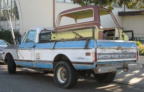 1971 Chevrolet C Series Pickup With Extra Cab