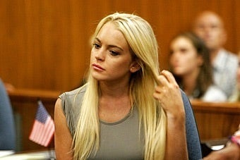 Lindsay Lohan's Hard-Nosed Judge Removes Herself from Case