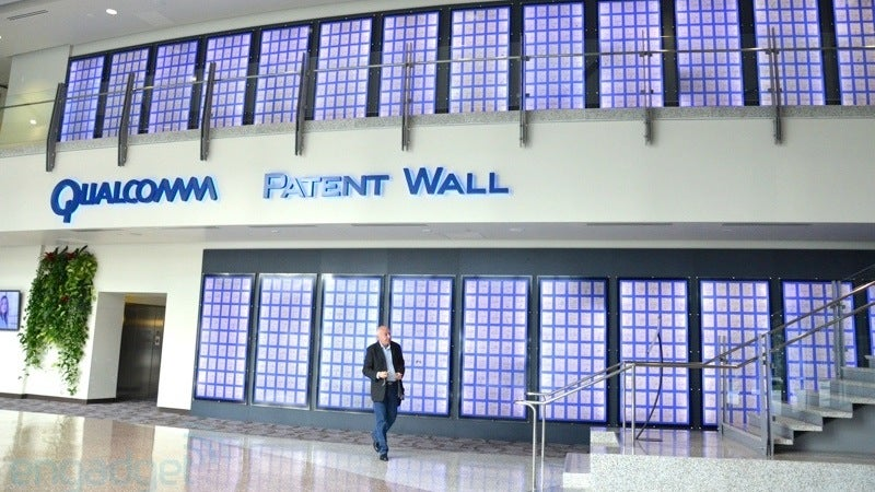 Qualcomm's Amazing Wall of Patents