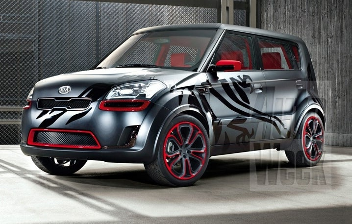 Kia SOUL Burner Concept Gets Early Reveal, Gives Us Peak At Next-Gen Small SUV