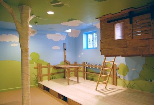 Kidtropolis' Magic Indoor Treehouse Bedroom