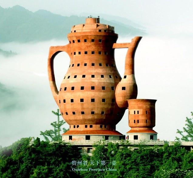 a Teapot-shaped Museum in