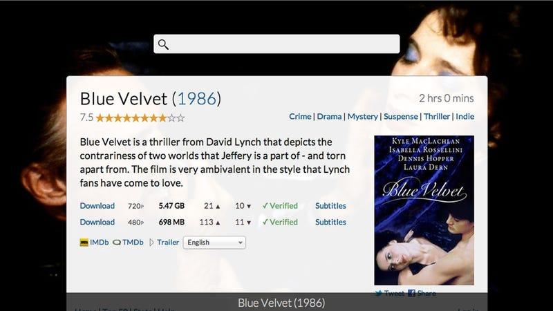 Movies.io Is an Elegant, Visual Movie Search Tool
