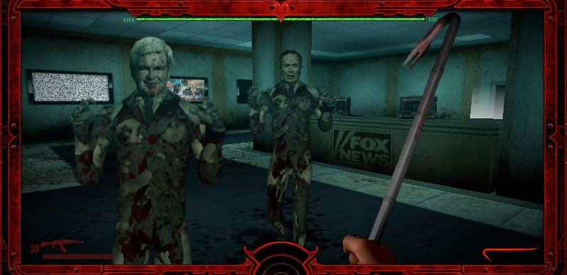 Liberal Video Game Offers Chance to Slay Sarah Palin, Newt Gingrich in Tea Party Zombies