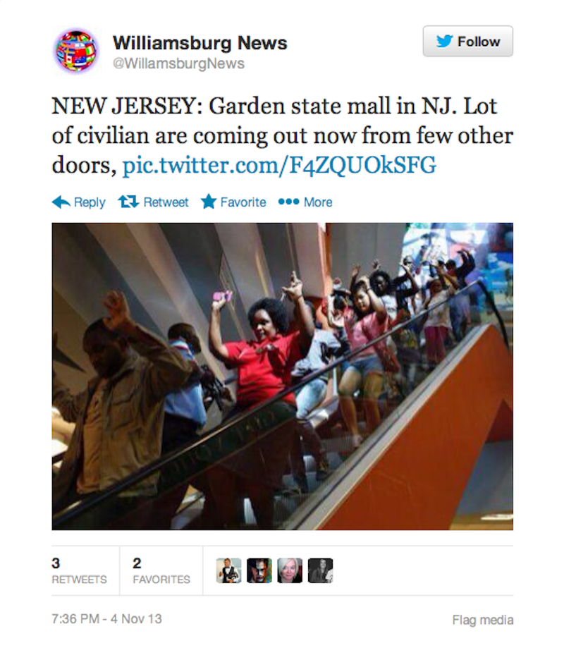 Twitter Is Easily Confused by Shopping Mall Photos