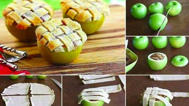 Bake an Apple Pie in an Apple for Impressive Individual Servings