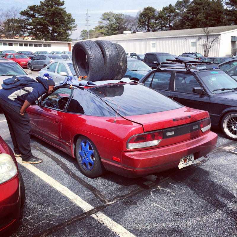 How to fit 11 Wheels/Tires in a S13 Hatchback