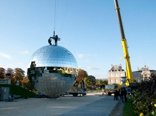 Paris Disco Ball Gallery