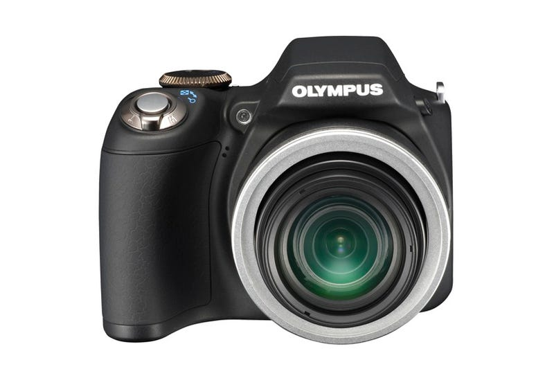 Olympus SP-590UZ Camera Has CIA-Worthy 26x Optical Zoom