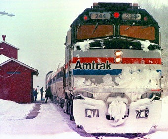 The Harrowing Tale of an Amtrak Train Stuck on the Rails for 10 Hours