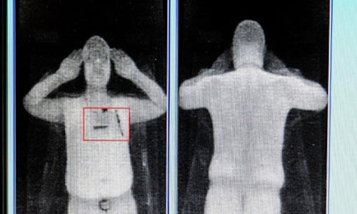 Airport Employee Abused Body Scanner to Get a Naughty Look at a Coworker