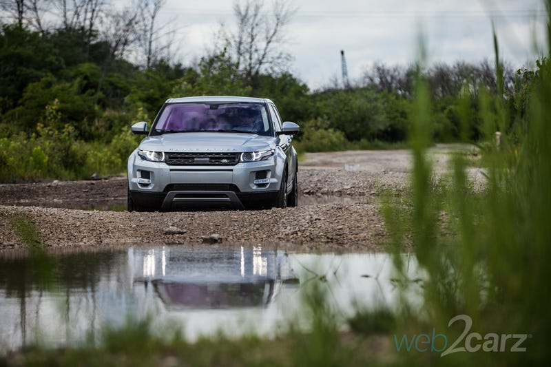 The Range Rover Evoque Isn't Just a Mall-Crawler