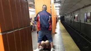 Half of Boston's Loveliest Couple Arrested for Alleged Subway Blow Job