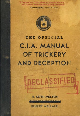 Secret CIA Manual Shows Magic Tricks Used By Spies