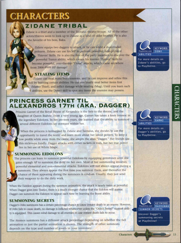final fantasy ix strategy guide