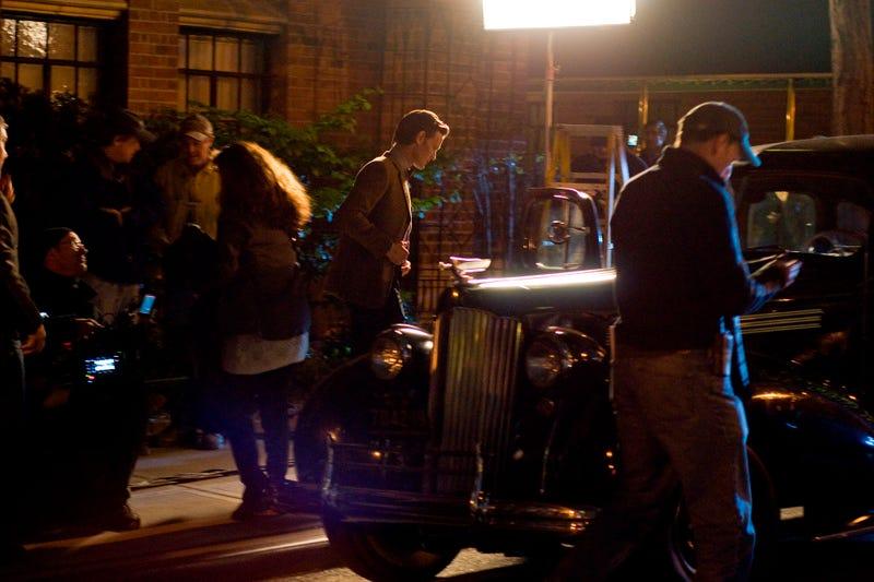 Doctor Who Night Shoot, via WENN.com