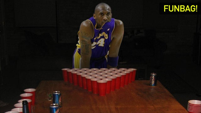 Could You Beat Kobe In Beer Pong?