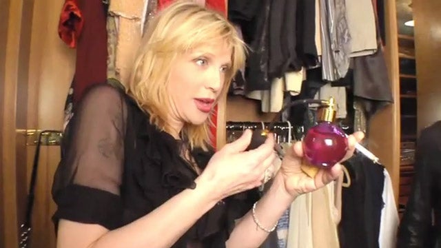 Inside Courtney Love's Smoky Closet