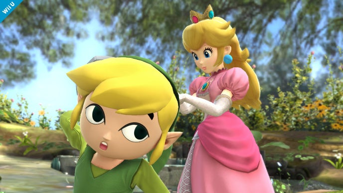 Wind Waker's Link Enters The Smash Bros. Fray, Knocks a Few Heads In