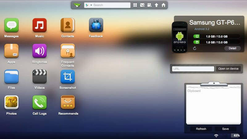 AirDroid Controls Your Android Phone or Tablet from Any Modern Web Browser