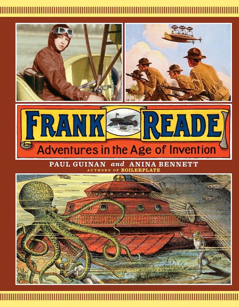 The strange afterlife of pulp hero Franke Reade