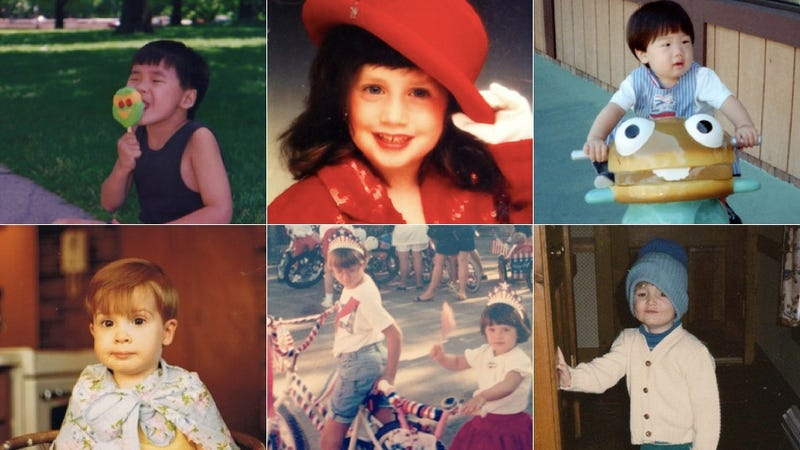 Do You Have Digital Photos of Yourself As a Kid?
